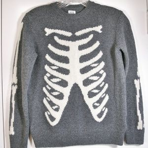Gap Kids skeleton sweater, lg (10)